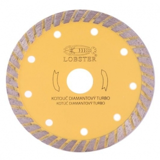 Kotouč diamantový TURBO, 150 mm LOBSTER