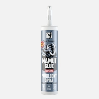 Lepidlo MAMUT GLUE CRYSTAL 290ml Den Braven